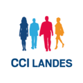 CCI LANDES logo